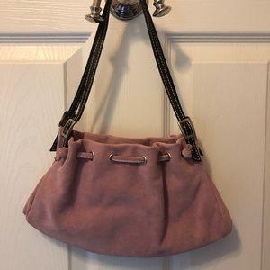 Neiman Marcus Bags - made in Italy Neiman Marcus  suede handbag
